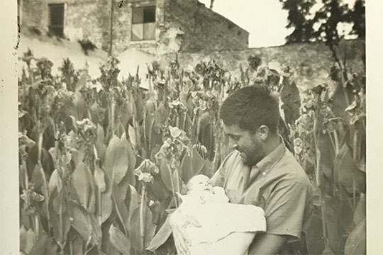 Jerry And Elisa In San Miguel Mexico 1960