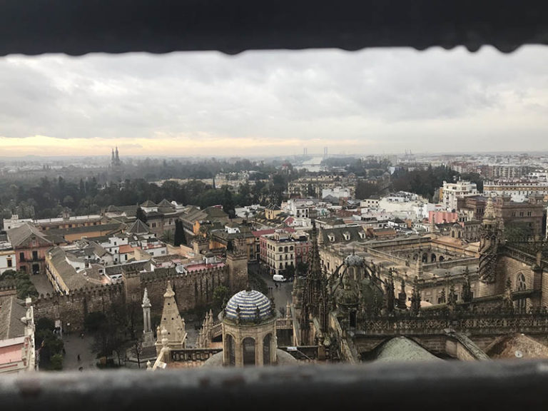 7. Ivana Martinez Spring 2020 View Of Sevilla From La Giralda