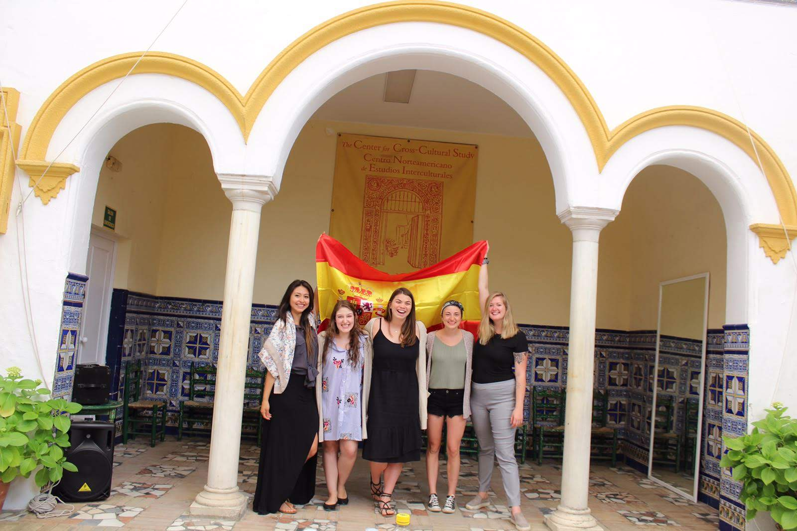 Studying In Seville