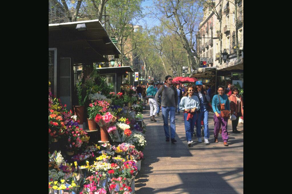 la rambla market barcelona