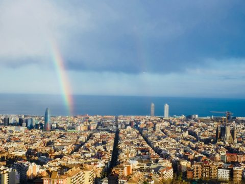 BCN - Spring 2018- Alexis Morillo - Barcelona City View - photo contest entry