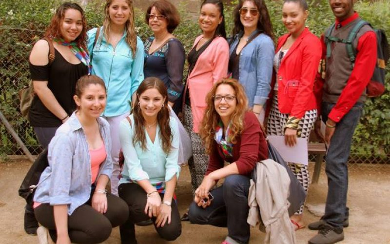 Felician College Students In Barcelona. Ssa Photo