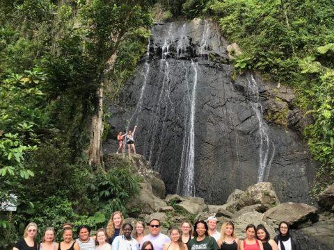 San-juan-puerto-ric-SJU -January Term 2019-Drew University-waterfall